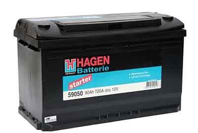Аккумулятор Hagen 90AH R+ 720A