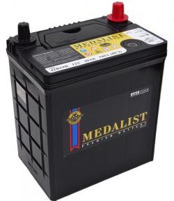Аккумулятор Medalist (42B19R) 40Ah JL+ 350A (тонкая клемма)