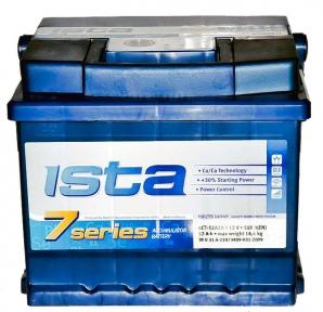 Аккумулятор Ista 7 series 52Ah R+ 510A (низкобазовый)