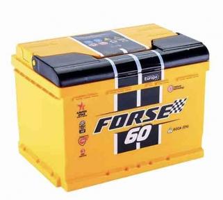 Аккумулятор Forse 60Ah R+ 600A (низкобазовый)