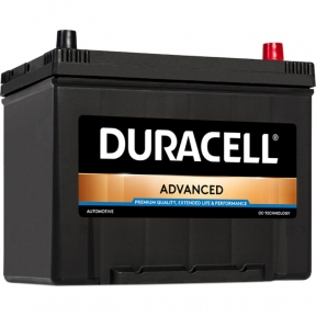 Аккумулятор автомобильный Duracell 6СТ- 70Ah JR+ 600A