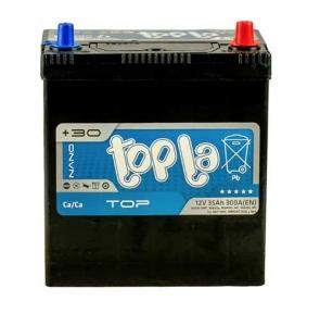 Аккумулятор автомобильный Topla 6СТ- 35Ah JR+ 240A