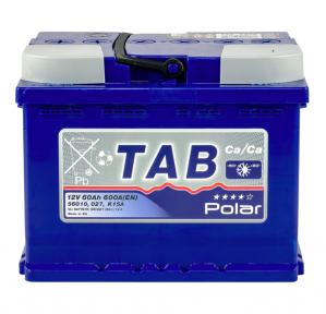 Аккумулятор автомобильный TAB Polar Blue 60 Ah R+ 600A (EN)