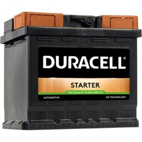 Аккумулятор автомобильный Duracell 6СТ- 45Ah R+ 400A