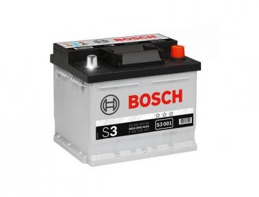 Аккумулятор BOSCH S3 001 41AH R+ 360A (EN) (Низкобазовый)