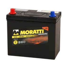 Аккумулятор Moratti 50Ah JL+ 420A (Honda)