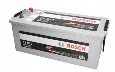 Аккумулятор Bosch T5 077 HDE 180AH L+1000A