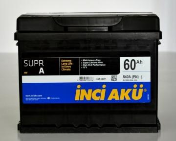 Аккумулятор INCI-AKU Supr A 60Ah L+ 540A