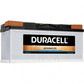 Аккумулятор автомобильный Duracell 6СТ- 100Ah R+ 820A