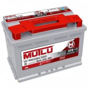 Аккумулятор Mutlu SFB Technology (Ser3) 78Ah R+ 830A (низкобазовый)