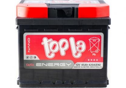 Аккумулятор автомобильный Topla 6СТ- 45Ah L+ 420A
