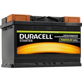 Аккумулятор автомобильный Duracell 6СТ- 95Ah R+ 720A