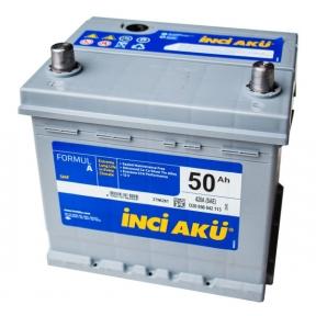 Аккумулятор INCI-AKU Formul A 50Ah JR+ 460A