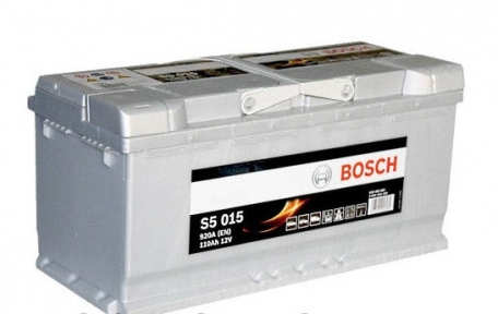 Аккумулятор Bosch S5 015 Silver Plus 110AH R+920A