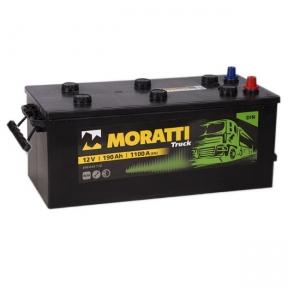 Аккумулятор Moratti 190Ah L+ 1150A