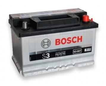Аккумулятор Bosch S3 007 70AH R+640A (Низкобазовый)