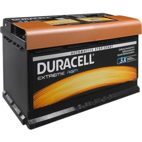 Аккумулятор автомобильный Duracell 6СТ- 92Ah R+ 850A