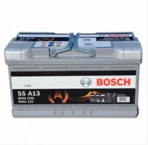 Аккумулятор Bosch S5 A13 AGM 95AH R+850A