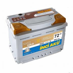 Аккумулятор INCI AKU NanoGold Start-Stop 72Ah R+ 680A