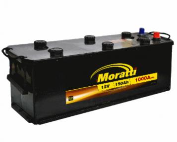 Аккумулятор Moratti 150Ah L+ 1000A