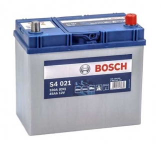 Аккумулятор Bosch S4 021 SIlver 45AH JR+330A (EN)