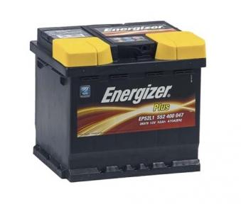 Аккумулятор автомобильный ENERGIZER 6СТ- 52Ah R+ 470A