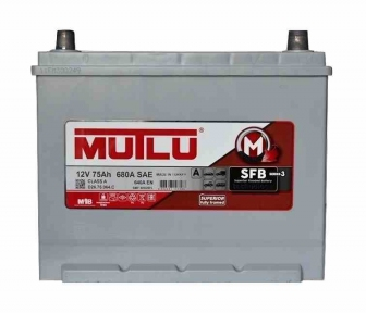 Аккумулятор Mutlu SFB Technology (Ser3) 75Ah JR+ 680A