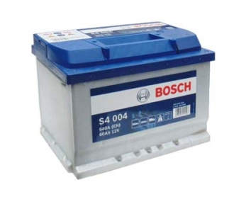 Аккумулятор Bosch S4 004 60Ah R+540A (Низкобазовый)
