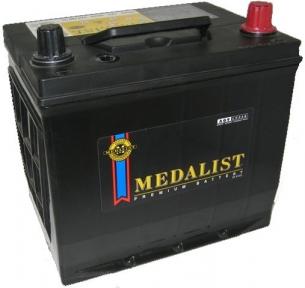 Аккумулятор Medalist (75D23L) 65Ah JR+ 570A