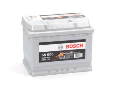 Аккумулятор Bosch S5 005 Silver Plus 63AH R+610A