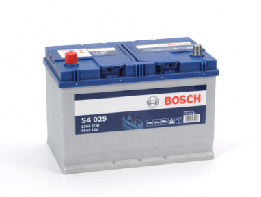 Аккумулятор Bosch S4 029 Silver 6CT 95AH JL+830A