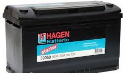 Аккумулятор Hagen 90AH L+ 720A