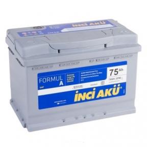 Aккумулятор INCI-AKU Formul A 75Ah R+ 700A