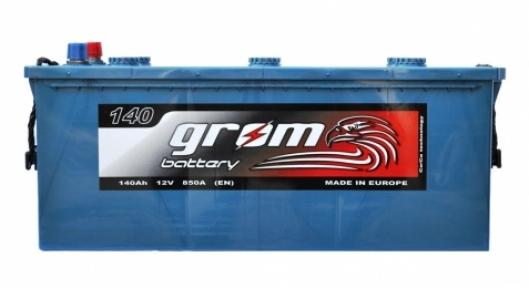 Аккумулятор Grom Premium 140Ah L+ 850A