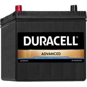 Аккумулятор автомобильный Duracell 6СТ- 60Ah JR+ 510A