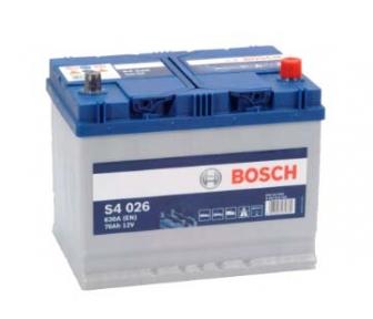 Аккумулятор Bosch S4 026 Silver 70AH JR+630A
