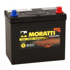 Аккумулятор Moratti 50Ah JR+ 420A (Honda)