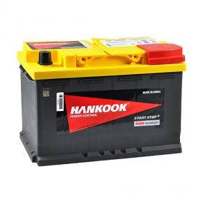 Аккумулятор автомобильный HANKOOK AGM 6СТ-70Ah R+ 760A Start Stop (EN)