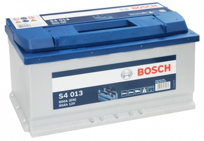 Аккумулятор Bosch S4 013 Silver 95AH R+800A