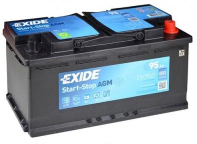 Аккумулятор Exide AGM 95Ah R+ 850A