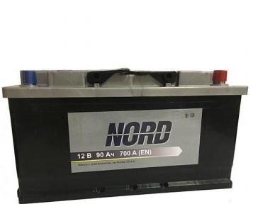 Аккумулятор NORD 90Ah R+ 700A