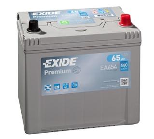 Аккумулятор Exide PREMIUM 65Ah JR+ 580A