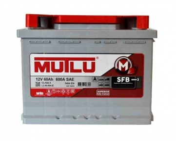 Аккумулятор Mutlu SFB Technology (Ser2) 60Ah L+ 540A