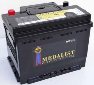 Аккумулятор Medalist (55054) 50Ah R+ 440A