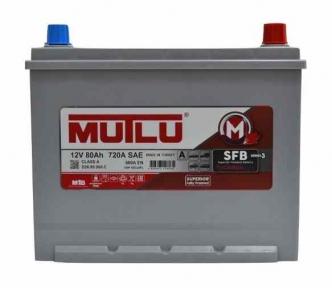 Аккумулятор Mutlu SFB Technology (Ser3) 80Ah JL+ 660A