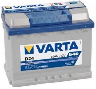Аккумулятор Varta 60Ah R+ 540A Blue Dynamic (низкобазовый)