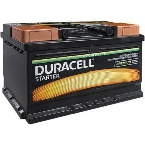 Аккумулятор автомобильный Duracell 6СТ- 72Ah R+ 660A