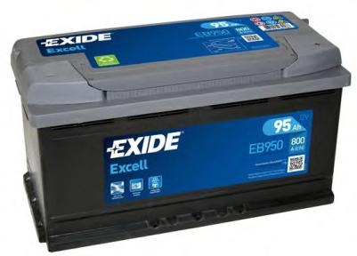 Аккумулятор Exide Excell 95Ah R+ 800A