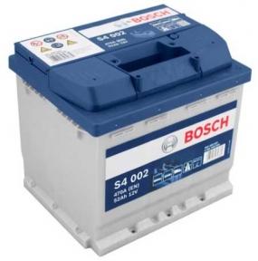 Аккумулятор Bosch S4 002 Silver 52AH R+ 470A