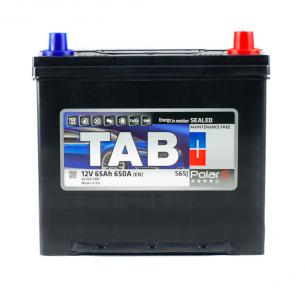 Аккумулятор автомобильный TAB Polar 65Ah JR+ 650A (EN)